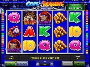Cops Robbers Millionaires row