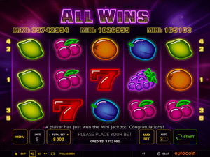 All wins