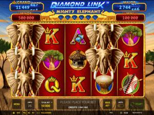 Diamond Cash Mighty Elephant