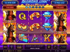 Diamond Cash Oasis Riches